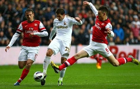Swansea City v Arsenal - Premier League